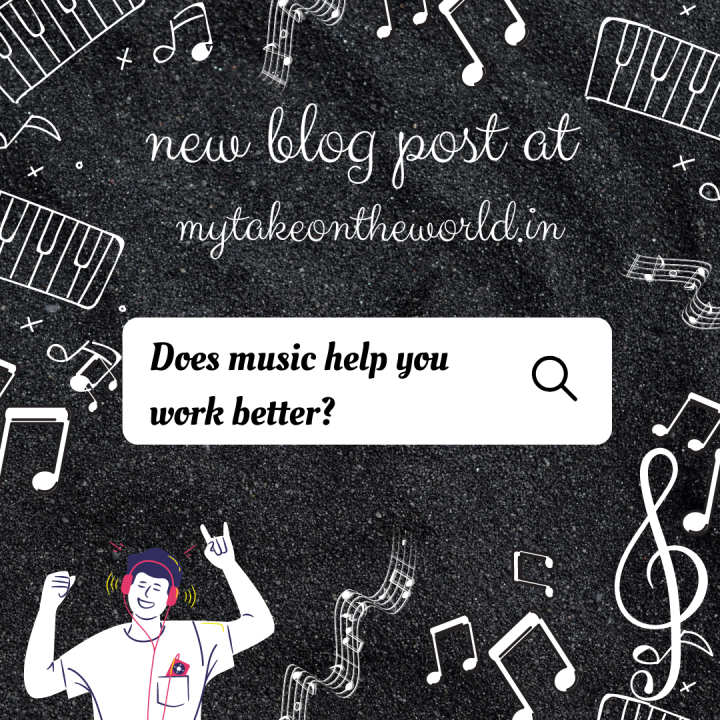 Does music help you workbetter?